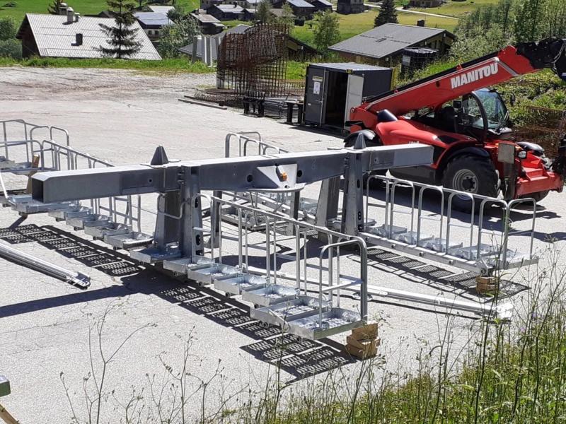 Construction Télécabine débrayable 10 places (TCD10) du Bois - Arêches 10047310