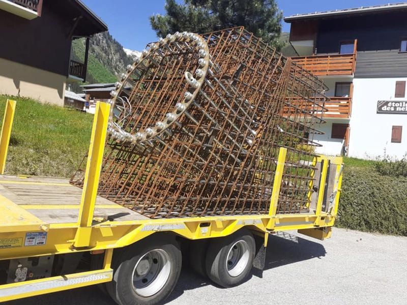 Construction Télécabine débrayable 10 places (TCD10) du Bois - Arêches 10047710