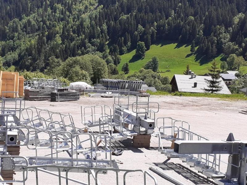 Construction Télécabine débrayable 10 places (TCD10) du Bois - Arêches 10085310