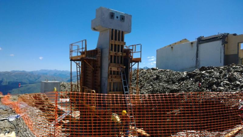 Construction du télésiège débrayable 6 places (TSD6) Bouleaux 11895110