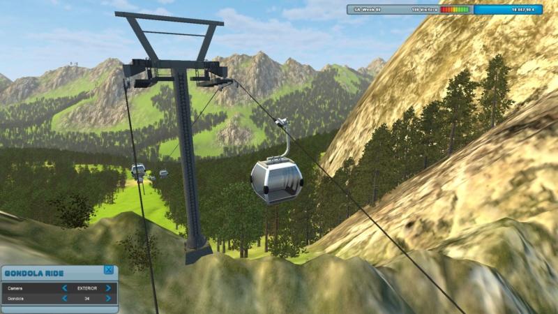 Ropeway simulator 12307910