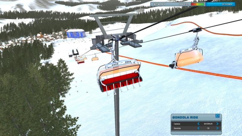 Ropeway simulator 12308010