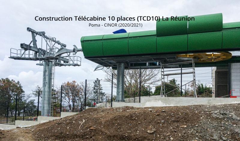 Construction télécabine débrayable 10 places (TCD10) La Réunion CINOR 12576810