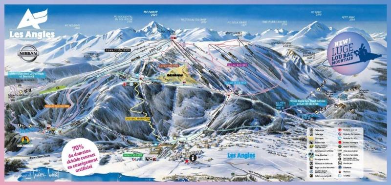 "Nouvelle luge 4 saisons ""Lou Bac Mountain"" - Les Angles 12661911"