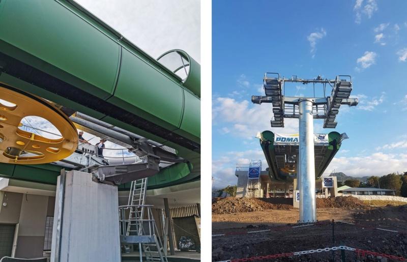 Construction télécabine débrayable 10 places (TCD10) La Réunion CINOR 12768010