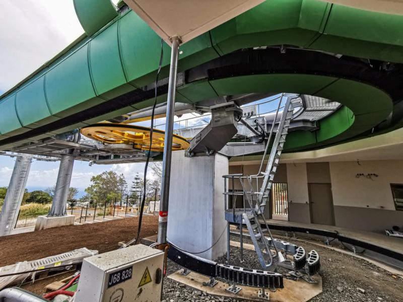 Construction télécabine débrayable 10 places (TCD10) La Réunion CINOR 12771410