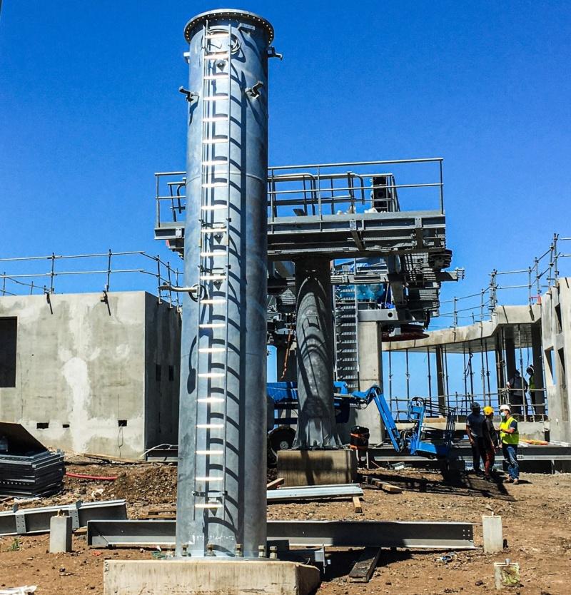 Construction télécabine débrayable 10 places (TCD10) La Réunion CINOR 14287810