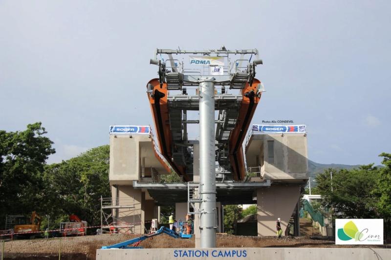 Construction télécabine débrayable 10 places (TCD10) La Réunion CINOR 16510110