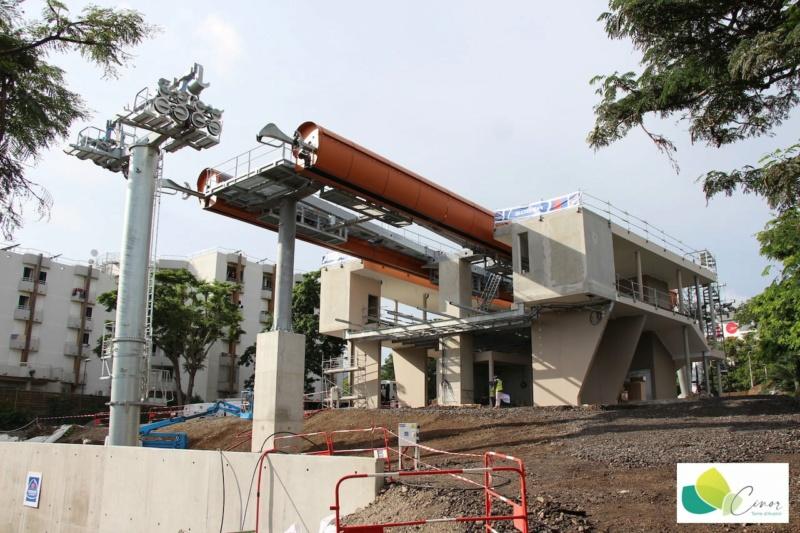 Construction télécabine débrayable 10 places (TCD10) La Réunion CINOR 16571310