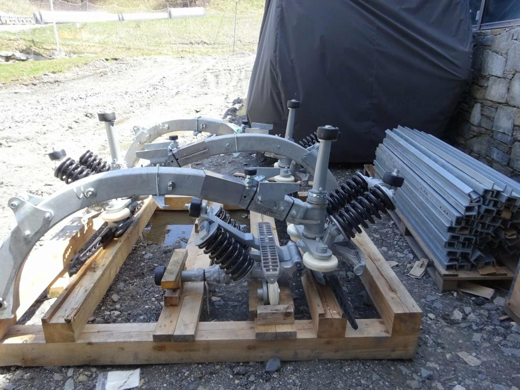 Construction télécabine débrayable 10 places (TCD10) Pointe de la Masse 18899810