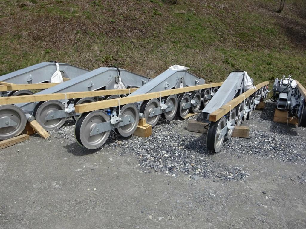 Construction télécabine débrayable 10 places (TCD10) Pointe de la Masse 18909610