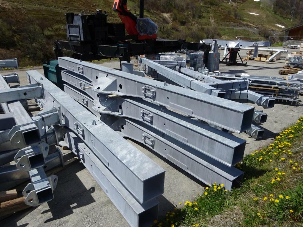 Construction télécabine débrayable 10 places (TCD10) Pointe de la Masse 18948210