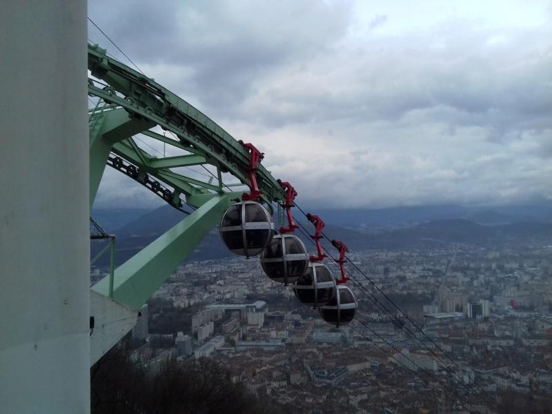 Téléphérique de Grenoble Bastille 20180329
