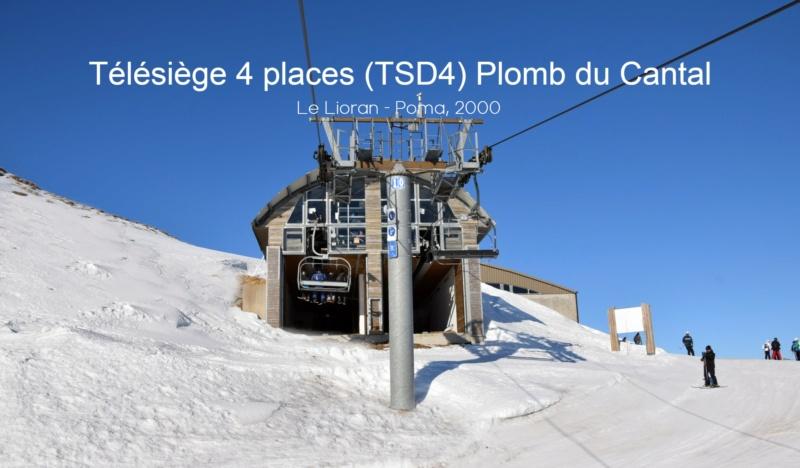 Télésiège débrayable (TSD4) Plomb du Cantal 20210126