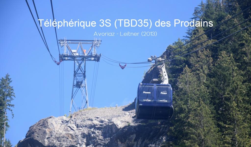 Téléphérique bicâble débrayable 3S des Prodains - Avoriaz 20210127