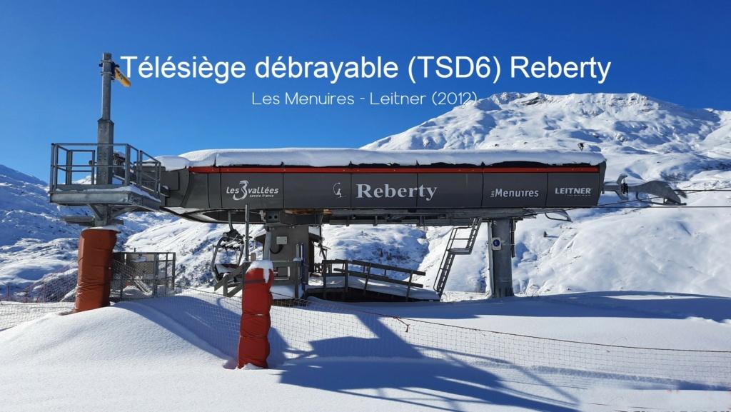 Télésiège débrayable 6 places (TSD6) Reberty 20210133