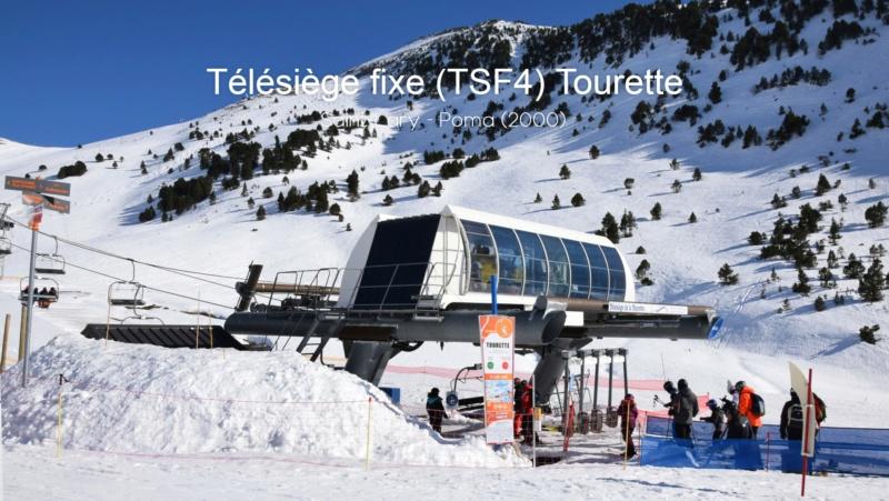 Télésiège fixe 4 places (TSF4) La Tourette 20210149