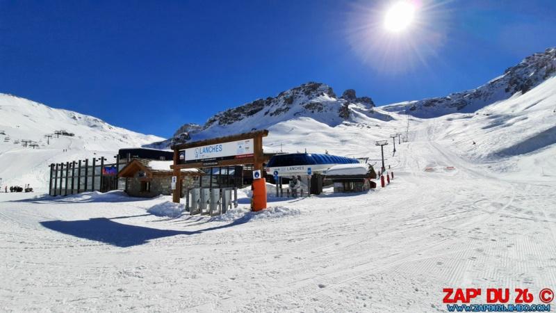 Télésiège Débrayable 6 places (TSD6) Lanches 20210237