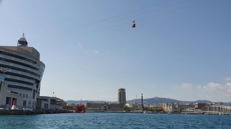 Téléphérique 20 places (TPH20) du Port - Barcelone 20210413