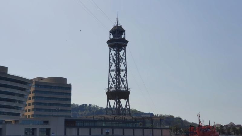 Téléphérique 20 places (TPH20) du Port - Barcelone 20210418