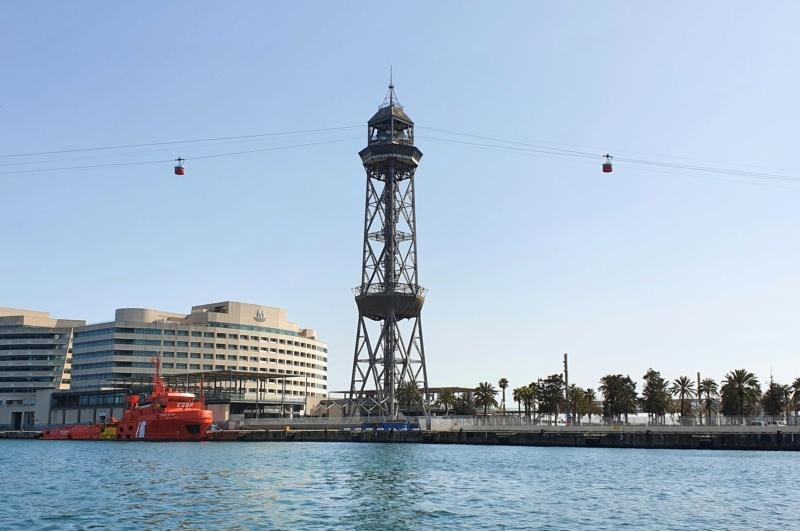 Téléphérique 20 places (TPH20) du Port - Barcelone 20210420