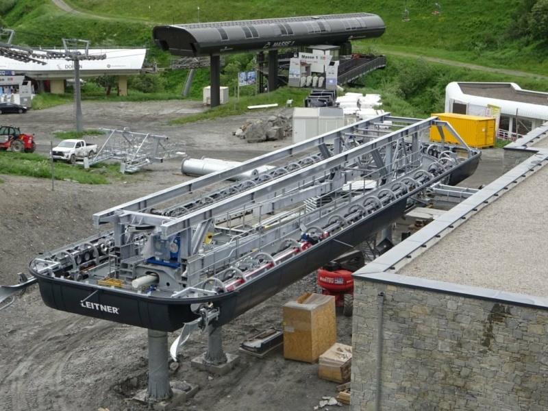 Construction télécabine débrayable 10 places (TCD10) Pointe de la Masse 20279310