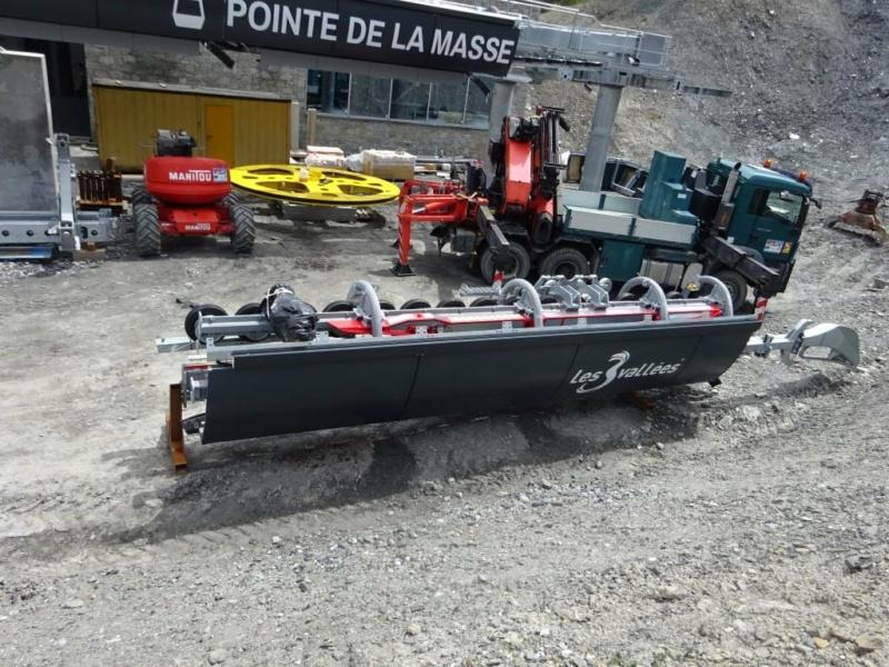 Construction télécabine débrayable 10 places (TCD10) Pointe de la Masse 20360610