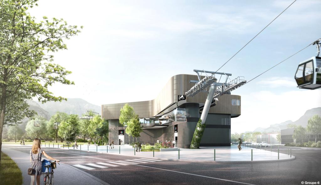 Construction Téléphérique urbain Fontaine - Saint Martin le Vinoux (Grenoble) 210_5410