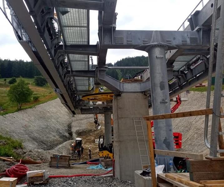 Construction télécabine 10 places (TCD10) Vallandry 22409110