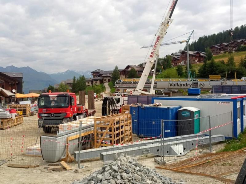 Construction télécabine 10 places (TCD10) Vallandry 22418510