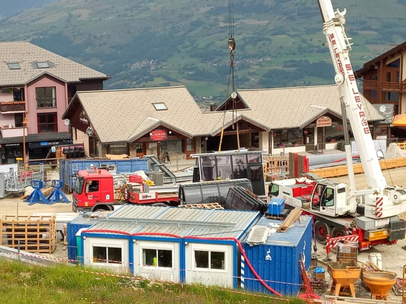 Construction télécabine 10 places (TCD10) Vallandry 22433610