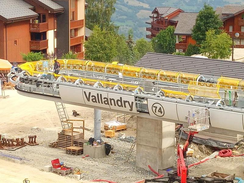Construction télécabine 10 places (TCD10) Vallandry 22478710