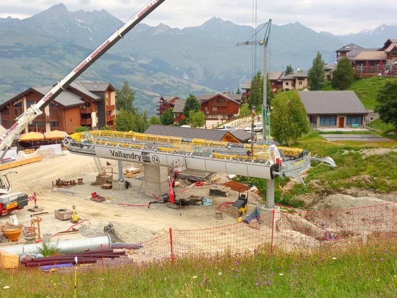 Construction télécabine 10 places (TCD10) Vallandry 22492010
