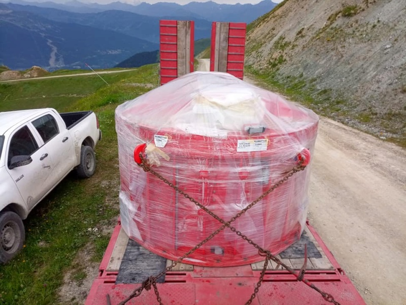 Construction télésiège débrayable TSD6 Lovatière | La Plagne 22537210