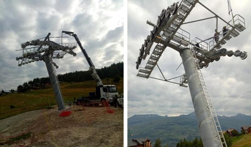 Construction télécabine 10 places (TCD10) Vallandry 22571410