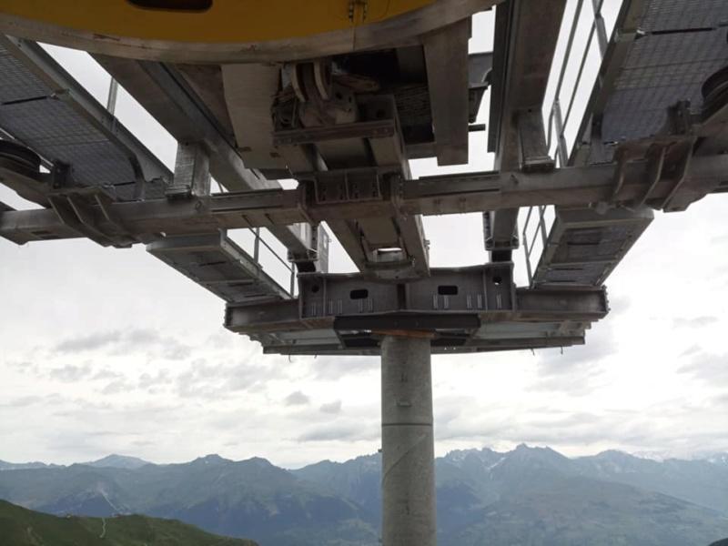Construction télésiège débrayable TSD6 Lovatière | La Plagne 22653410