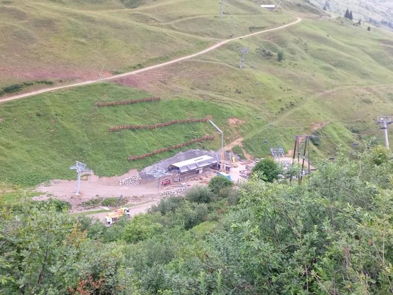 Construction télésiège 6 places (TSD6) de l'Olympique 22754410