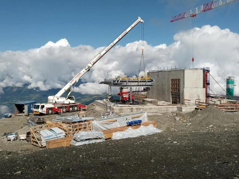 Construction télécabine 10 places (TCD10) Vallandry 22831510