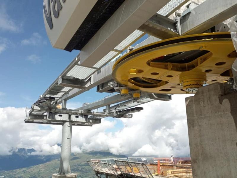 Construction télécabine 10 places (TCD10) Vallandry 22860710
