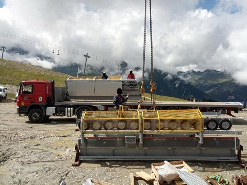 Construction télécabine 10 places (TCD10) Vallandry 22865710