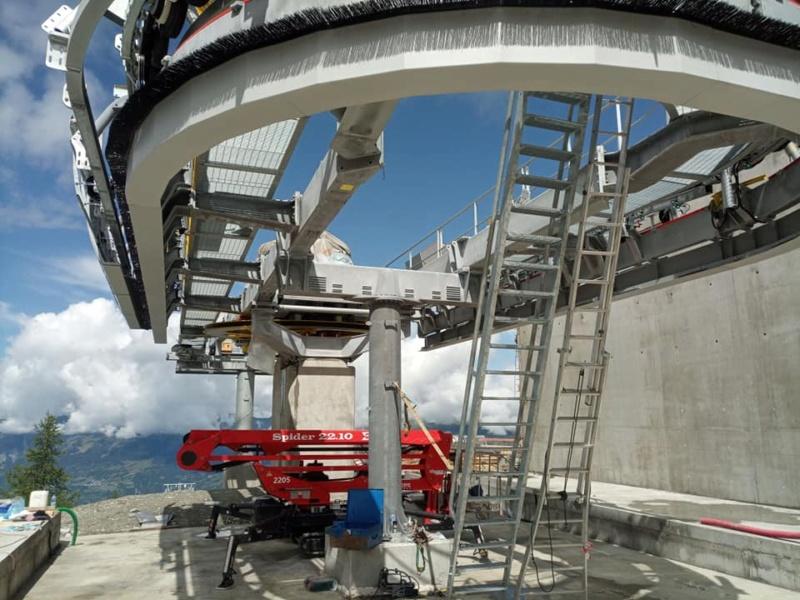 Construction télécabine 10 places (TCD10) Vallandry 22876410