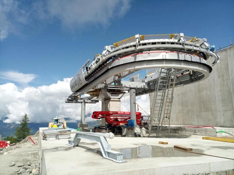 Construction télécabine 10 places (TCD10) Vallandry 22882910
