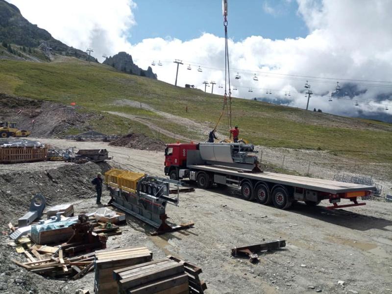 Construction télécabine 10 places (TCD10) Vallandry 22948310
