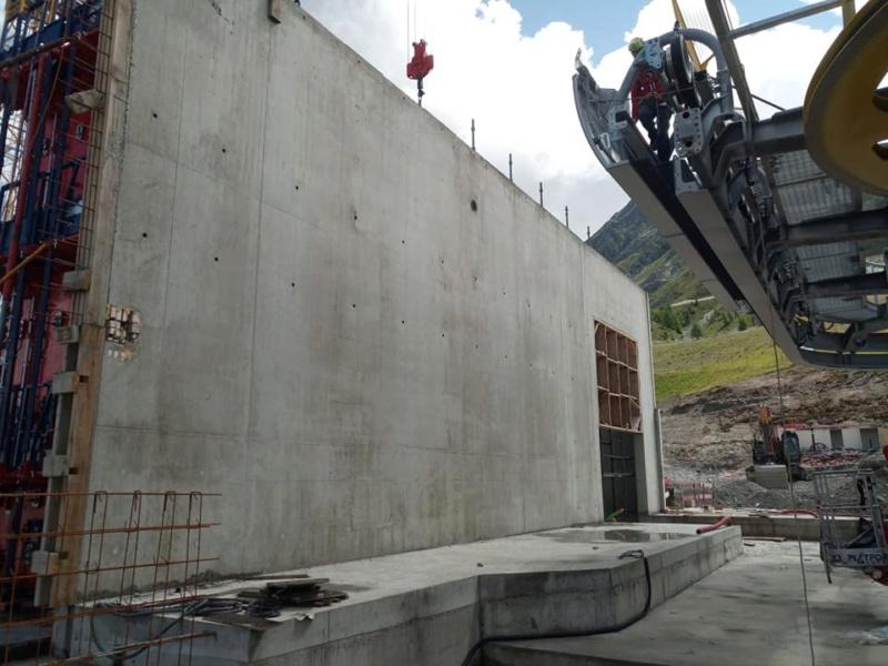 Construction télécabine 10 places (TCD10) Vallandry 22955710