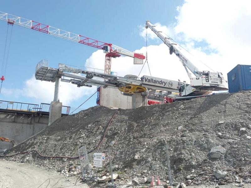 Construction télécabine 10 places (TCD10) Vallandry 22991810