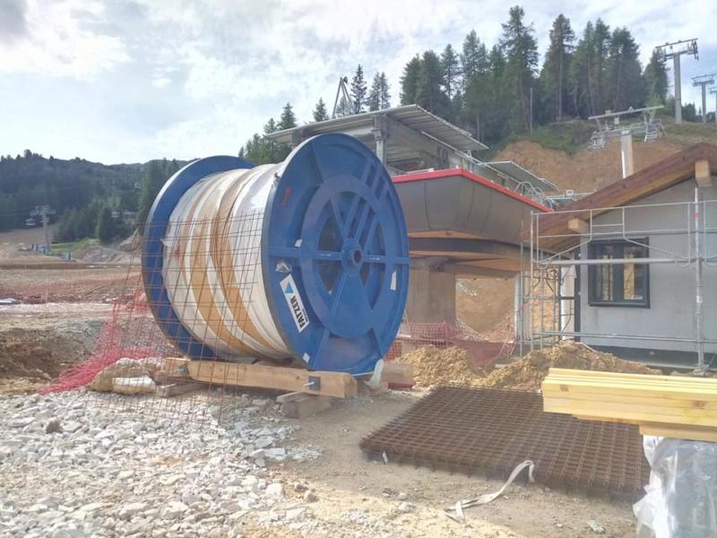 Construction télésiège débrayable TSD6 Lovatière | La Plagne 23040010