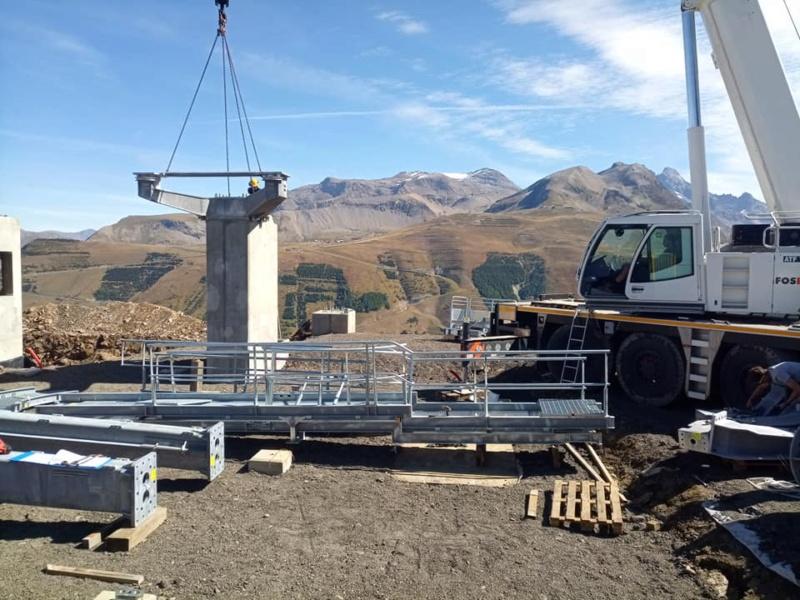 Construction télécabine débrayable (TCD10) Super Venosc 24261010