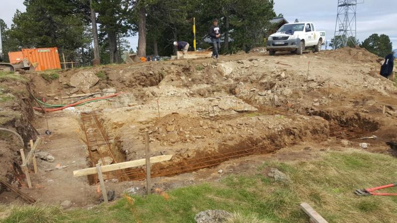 Construction télésiège fixe 4 places Bisorne (TSF4) - LST, Ax 3 Domaines 35489510