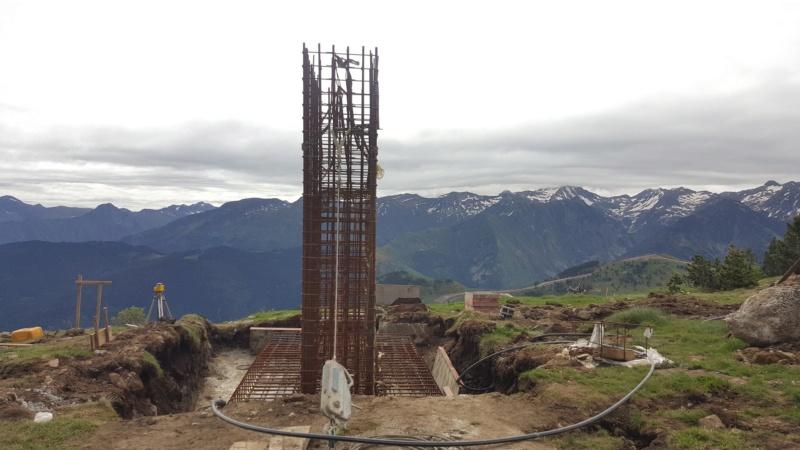 Construction télésiège fixe 4 places Bisorne (TSF4) - LST, Ax 3 Domaines 35521610