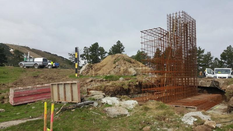 Construction télésiège fixe 4 places Bisorne (TSF4) - LST, Ax 3 Domaines 35543310